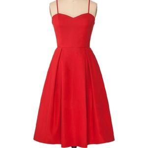 1861 Red A-Line Dress